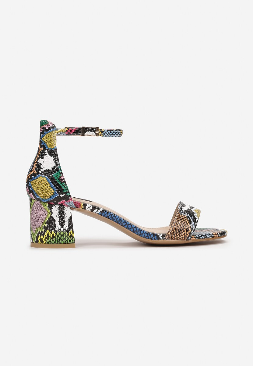 Wężowe Sandały Arievia