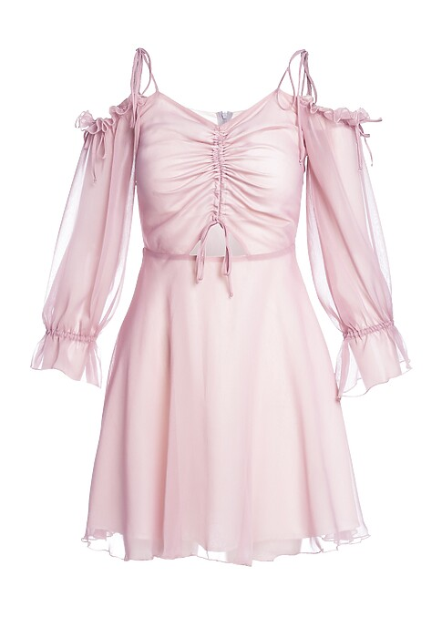 Rozowa sukienka preserved nature