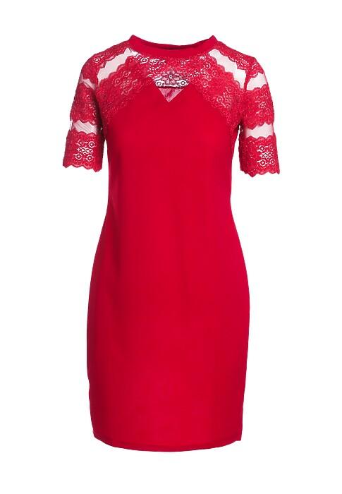 Czerwona sukienka berry