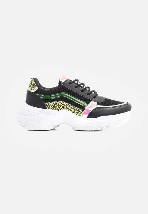 Czarne Sneakersy Activate