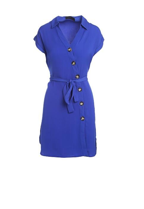 Ciemnoniebieska Sukienka Propertied