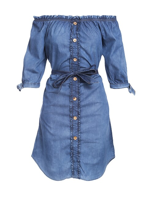 Niebieska Sukienka Gentleness