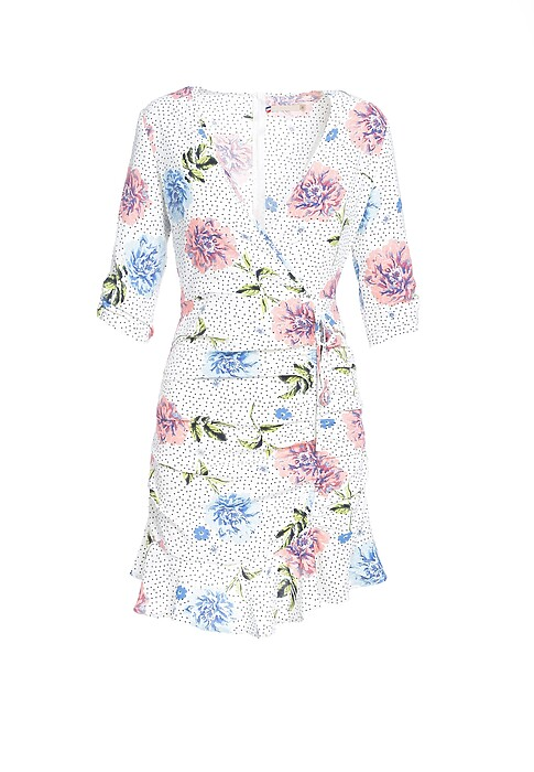 Biala Sukienka Periwinkle