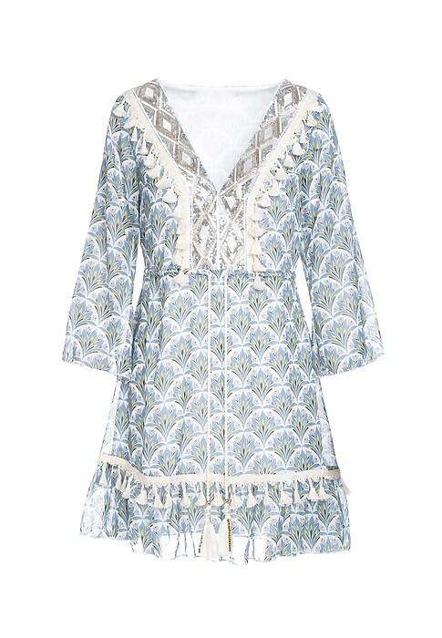 Niebieska Sukienka Whitsun