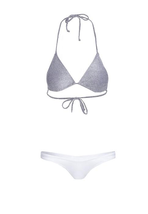 Fioletowo Biale Bikini Jupiter