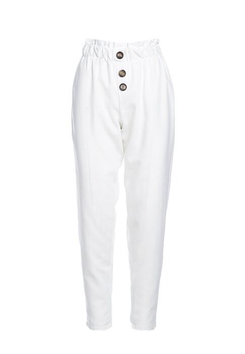 Biale Spodnie Lighthearted
