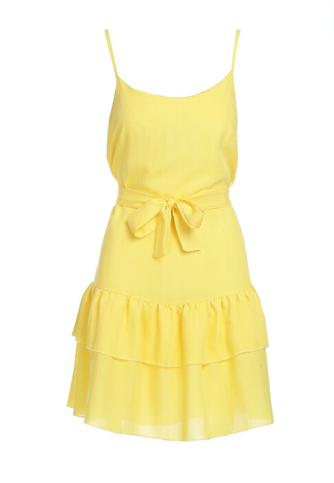 Zolta Sukienka Calmer