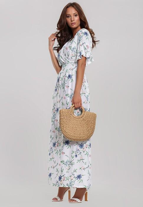 Biała Sukienka Vine