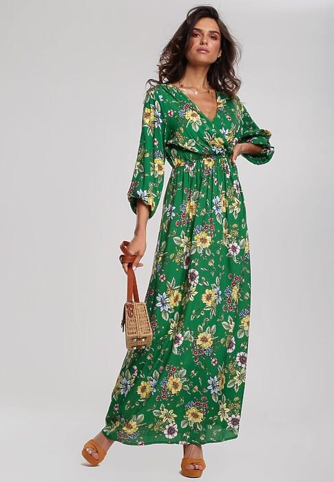 Zielona Sukienka Weed