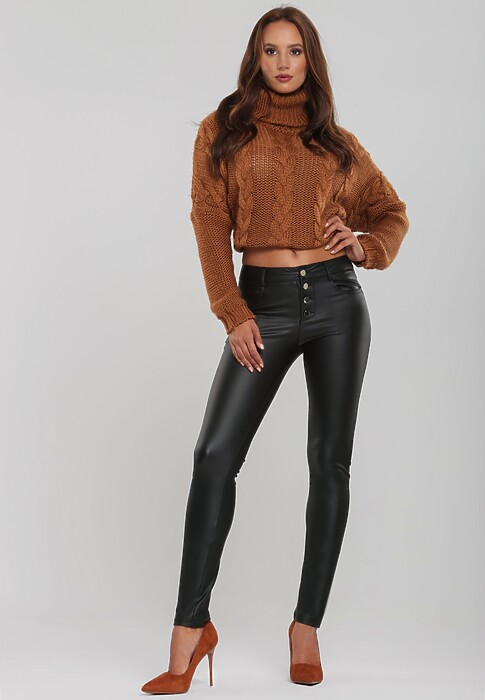 Czarne Spodnie Adelina