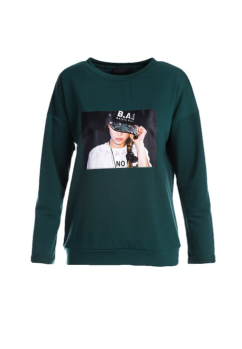 Zielona Bluza Animalcule
