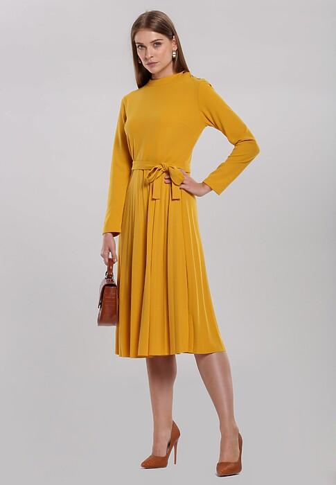 Jakie Buty Do Zoltej Sukienki Stylizacje Ktore Pokochasz Blog Renee