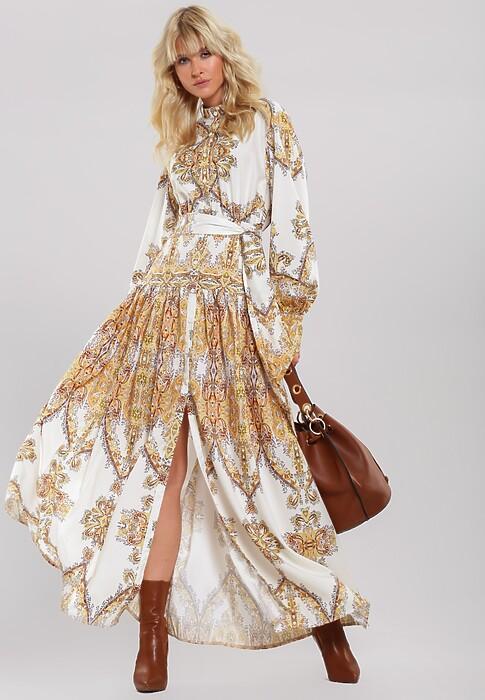 Biała Sukienka Intelligencer