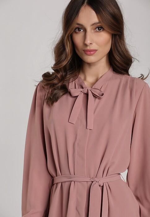 Różowa Sukienka Libourne