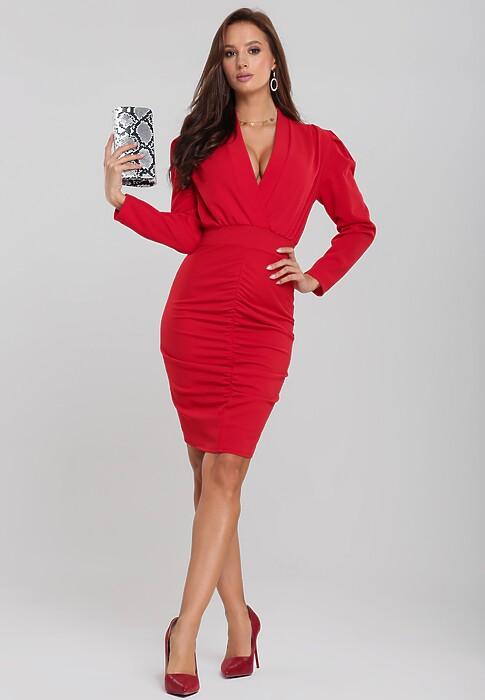 Czerwona Sukienka Zumma