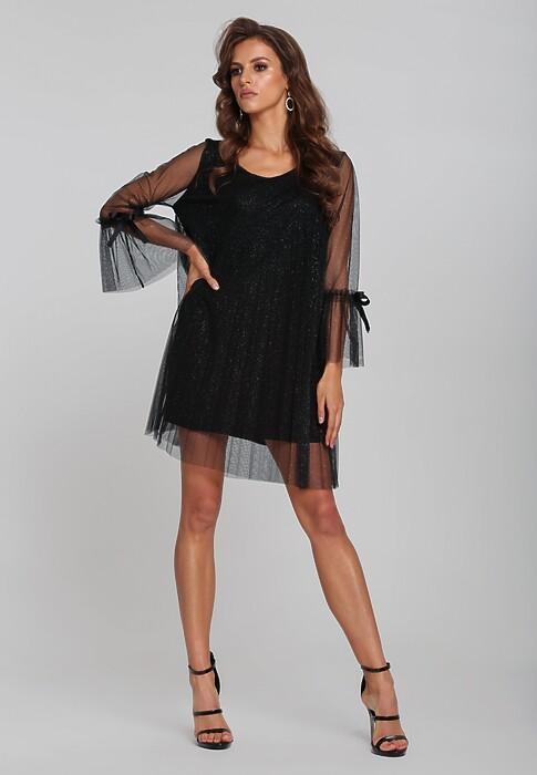 Czarna Sukienka Zonit
