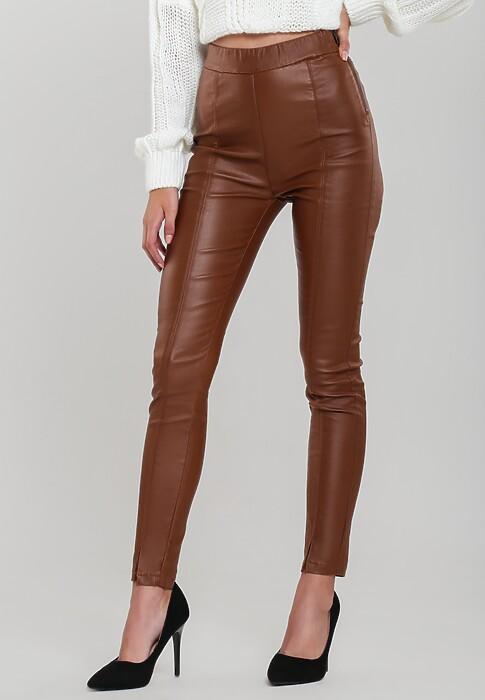 Brązowe Spodnie How's That