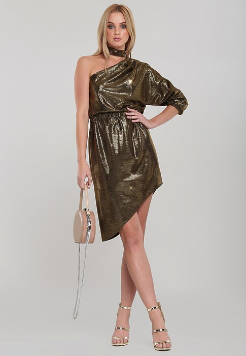 Podpowiadamy Jak Stworzyc Z Modne Stylizacje Ze Zlota Sukienka I Jakie Dodatki Do Niej Dolozyc Blog Renee