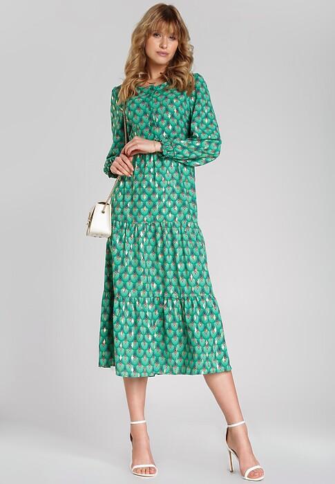 Zielona Sukienka Medrano
