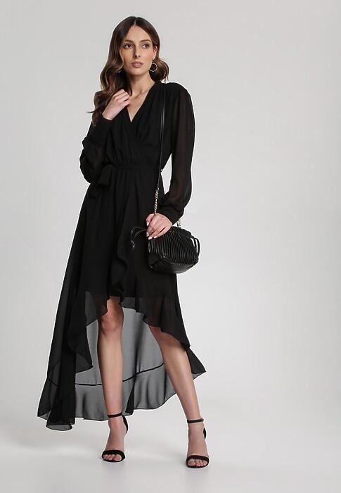 Czarna Sukienka Maiphise
