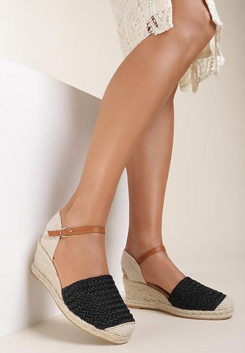 Czarne Sandały Pasiliphis