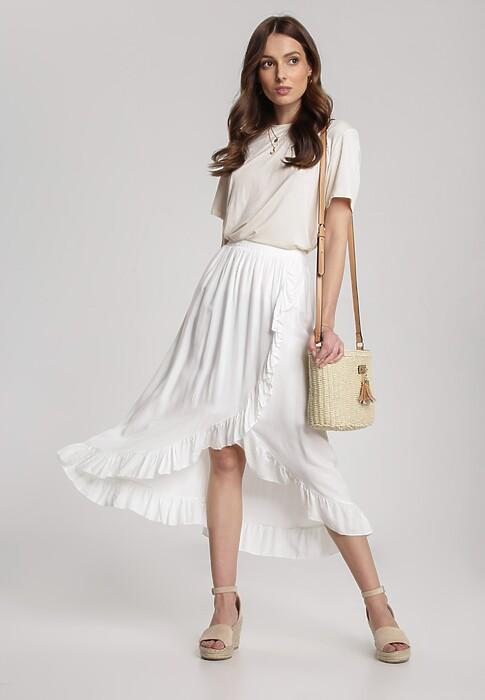 Biała Spódnica Lamethilei