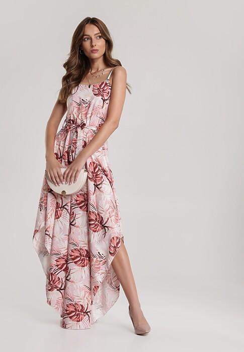 Ciemnoróżowa Sukienka Elinney