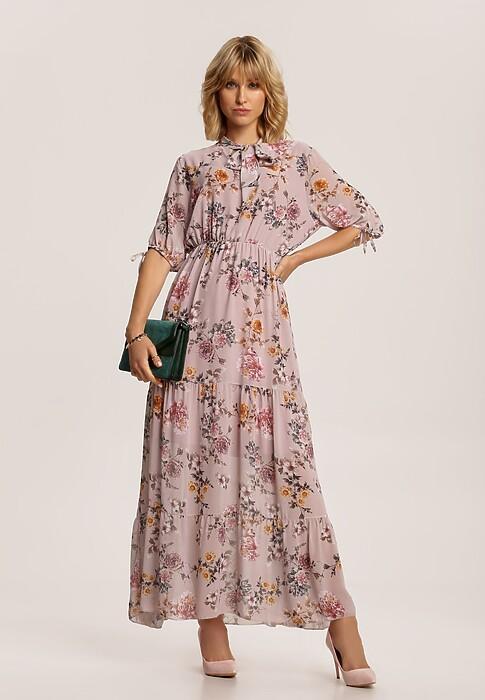 Jasnoróżowa Sukienka Usinless