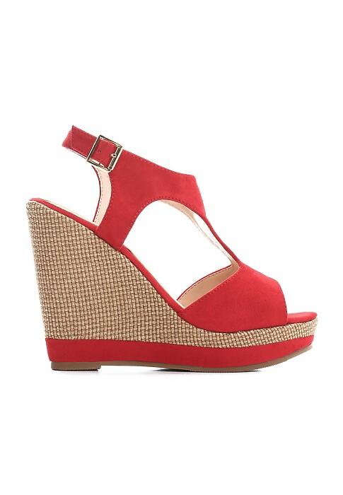Czerwone Sandały Comfortableness