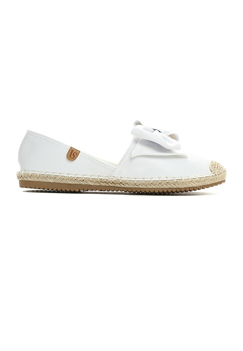 Biale Espadryle Step Out