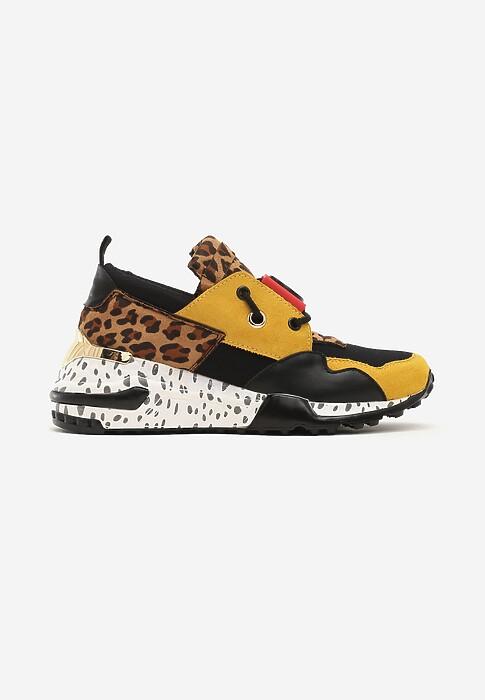 Zolte Sneakersy Million Reasons