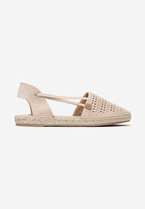 Bezowe Espadryle Want It