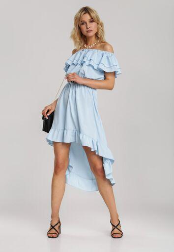 Niebieska Sukienka Elilophi
