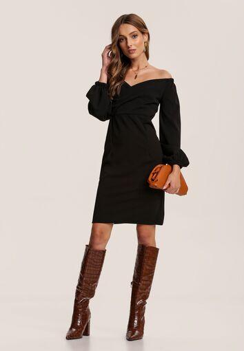 Czarna Sukienka Zellryna