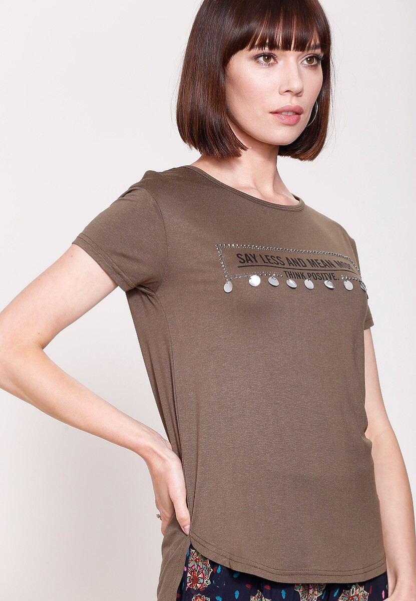 Khaki T-shirt What Now?
