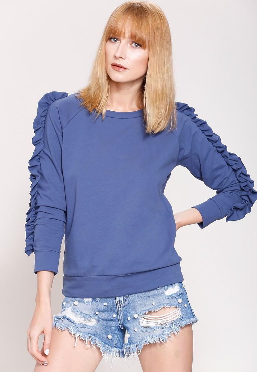 Niebieska Bluza She's Rebel