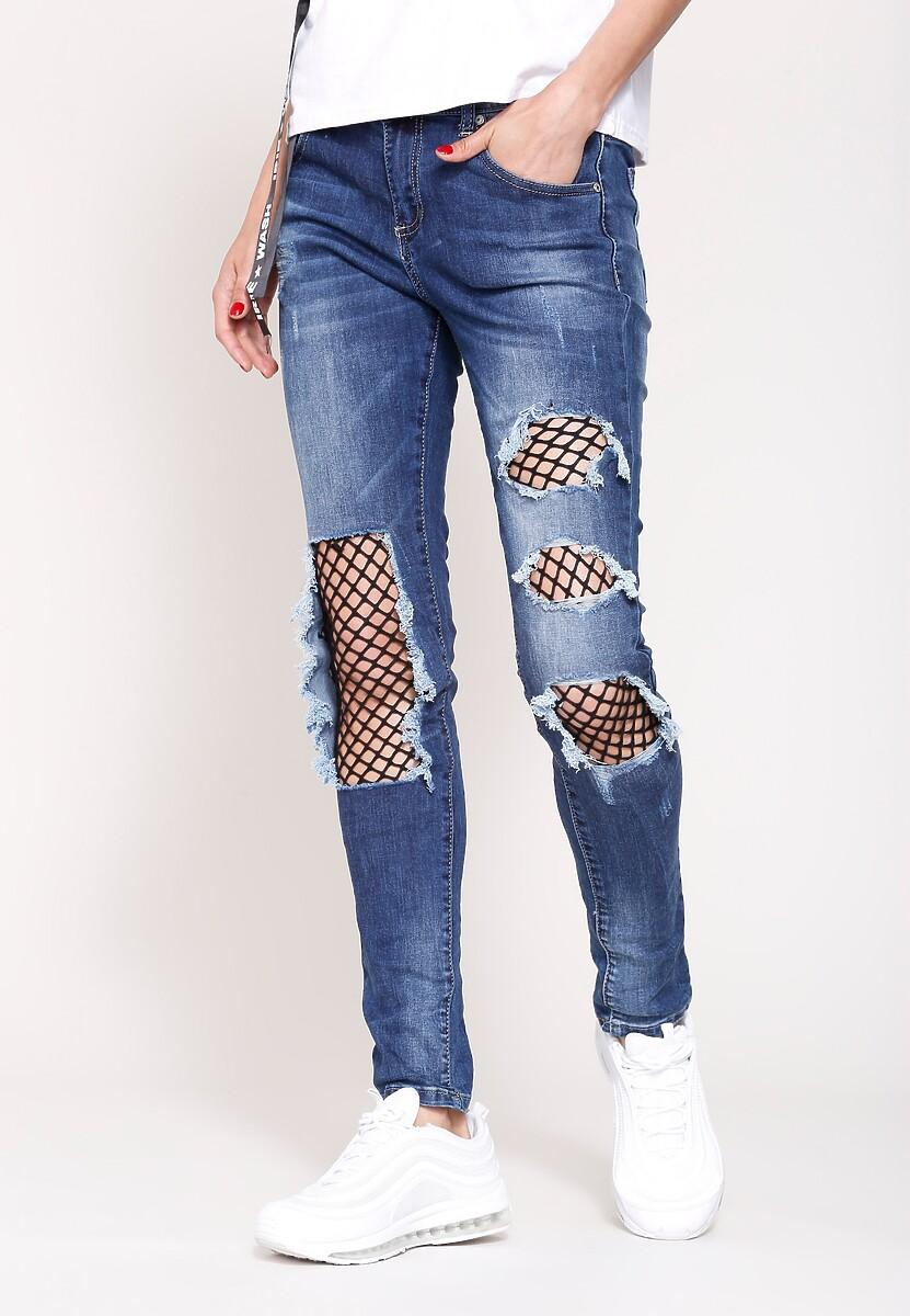 Niebieskie Jeansy Hot Stuff