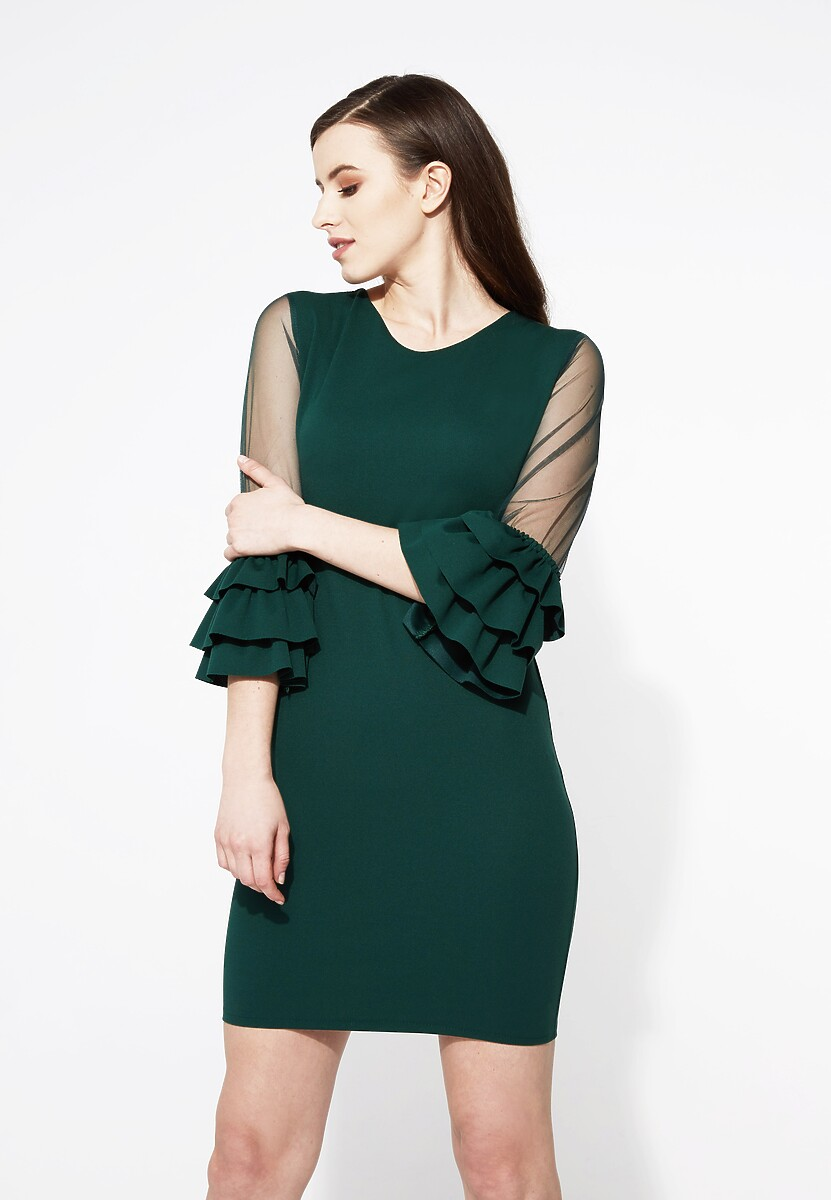 Zielona Sukienka Unusual