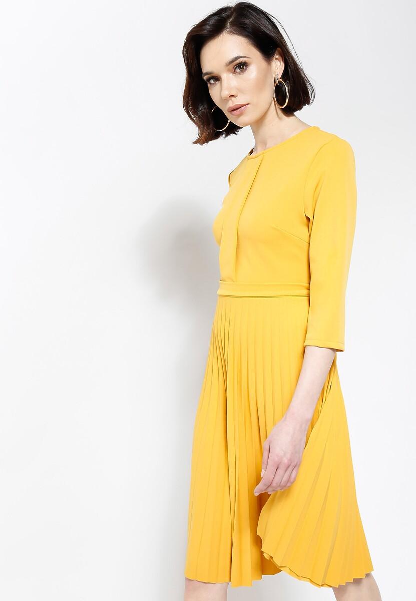 Żółta Sukienka Sisters Of Mercy