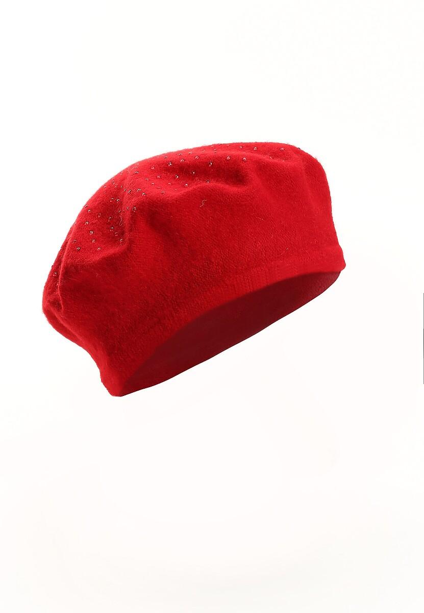 Czerwony Beret Parisian