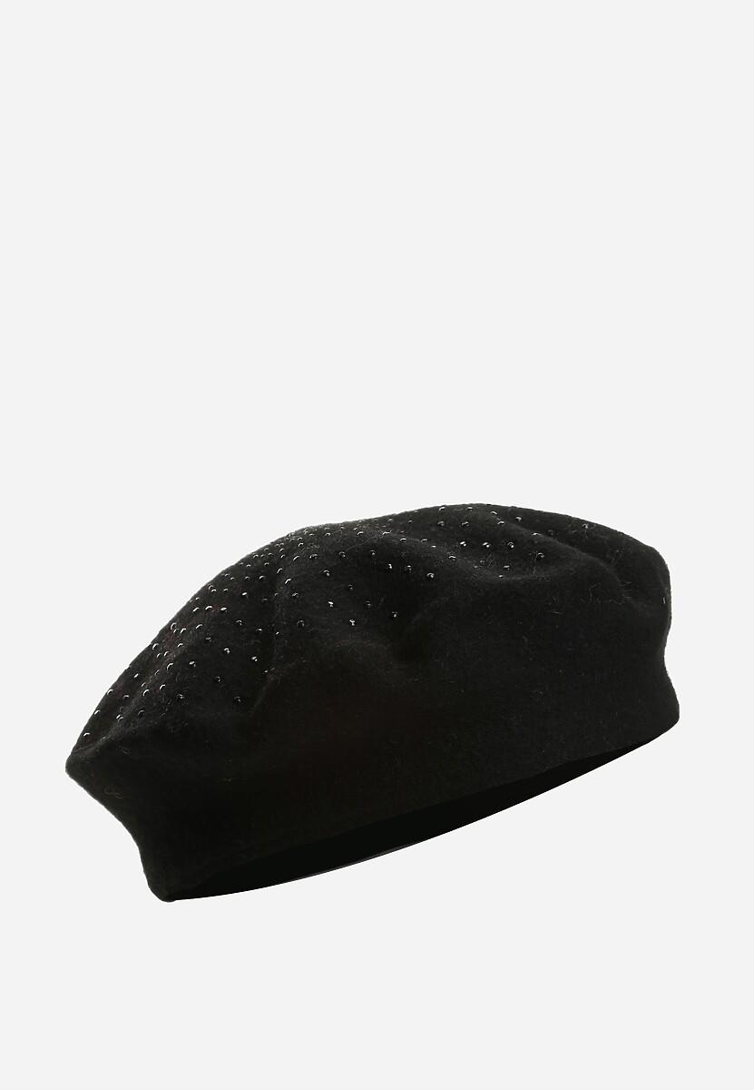 Czarny Beret Parisian