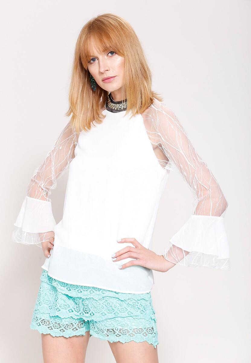 Biała Bluzka Distingue