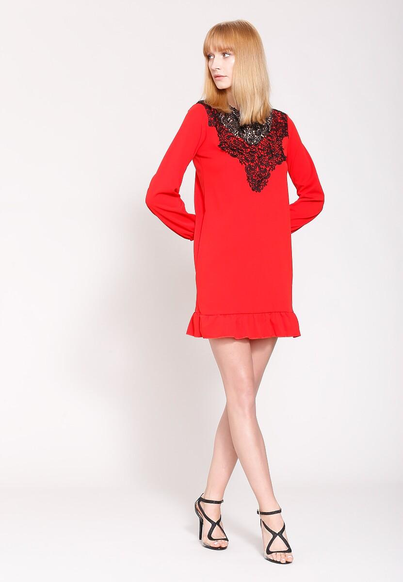 Czerwona Sukienka Apparent