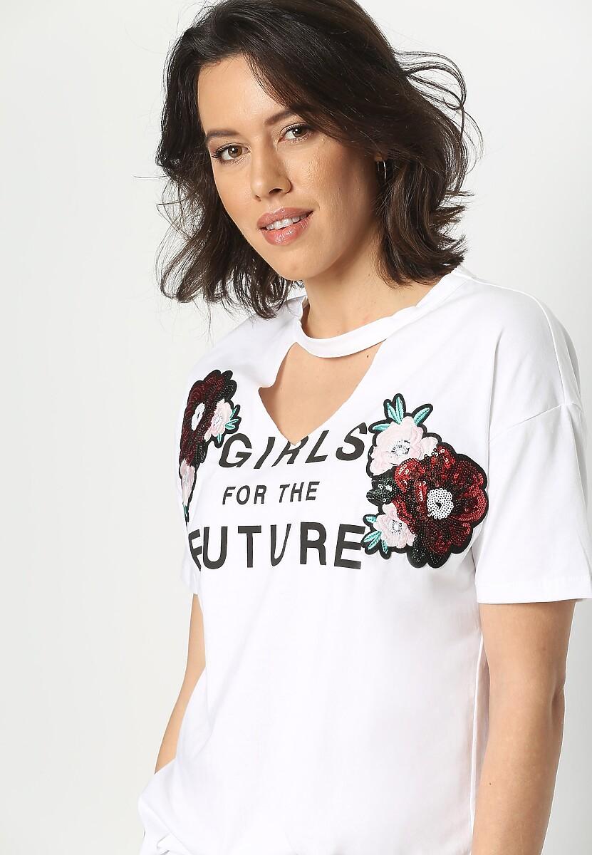 Biała Bluzka Futurity