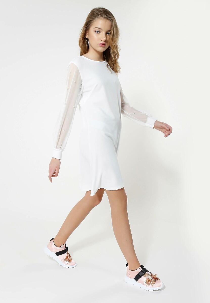 Biała Sukienka Little Elements
