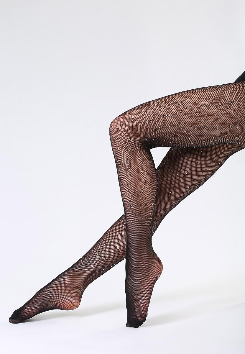 Czarne Rajstopy Gloss