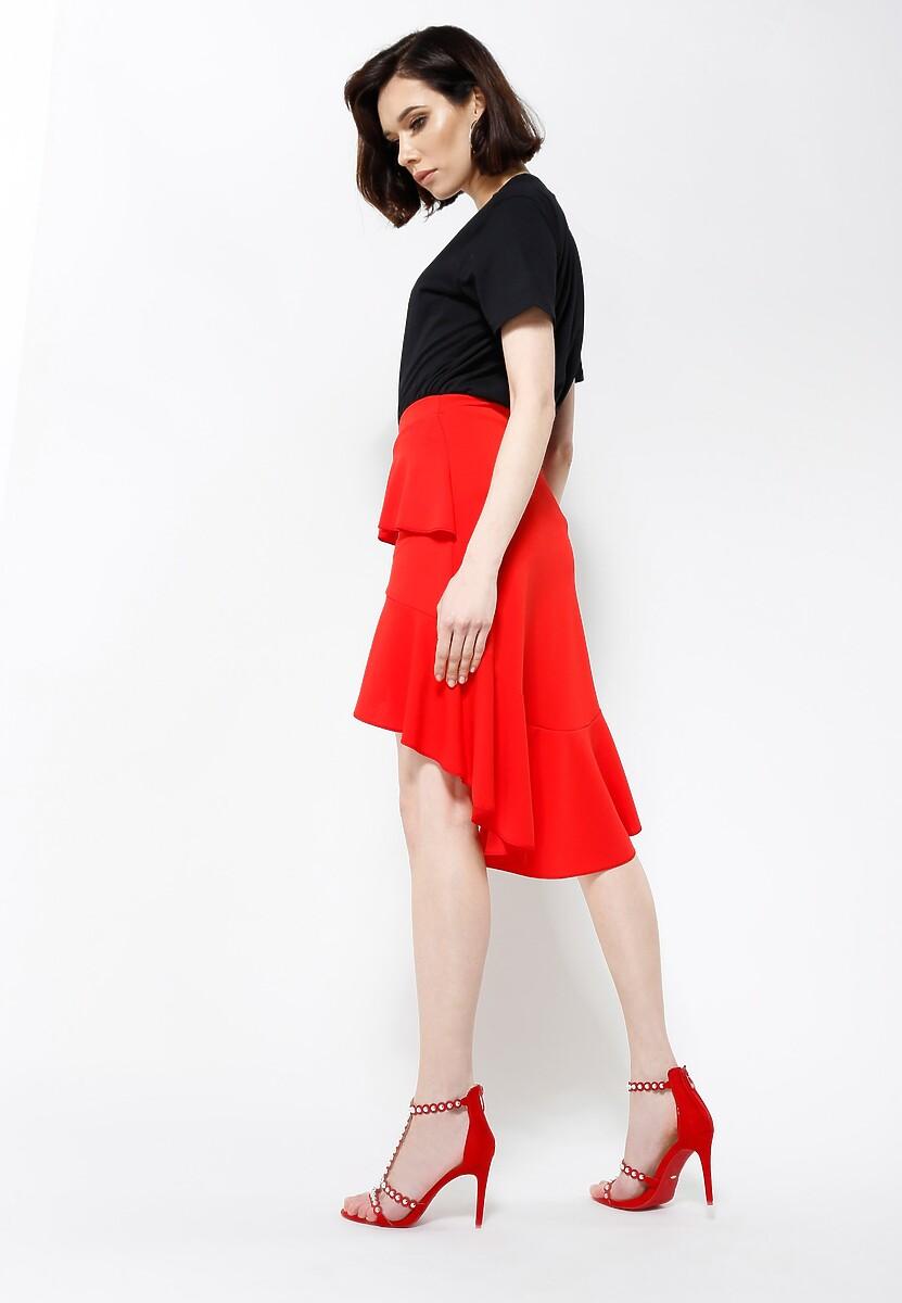 Czerwona Spódnica Mammy Blue