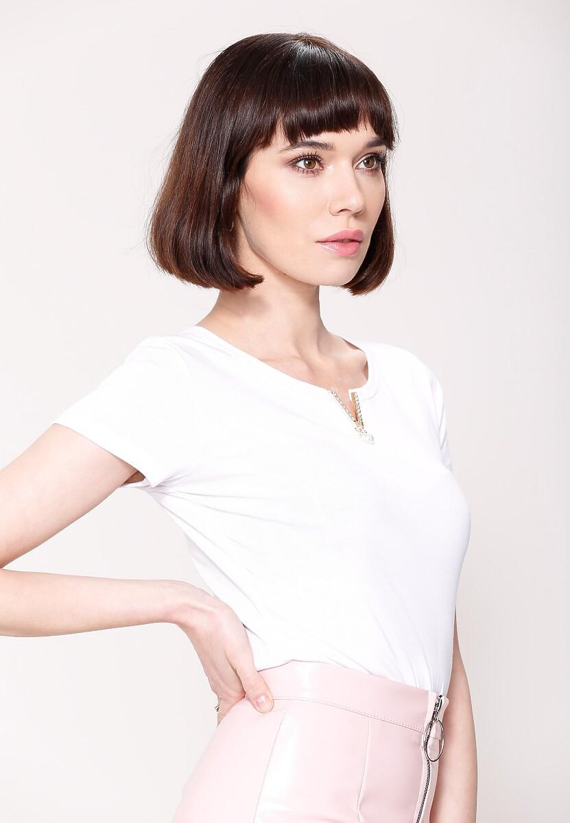 Biała Bluzka Last Pearl