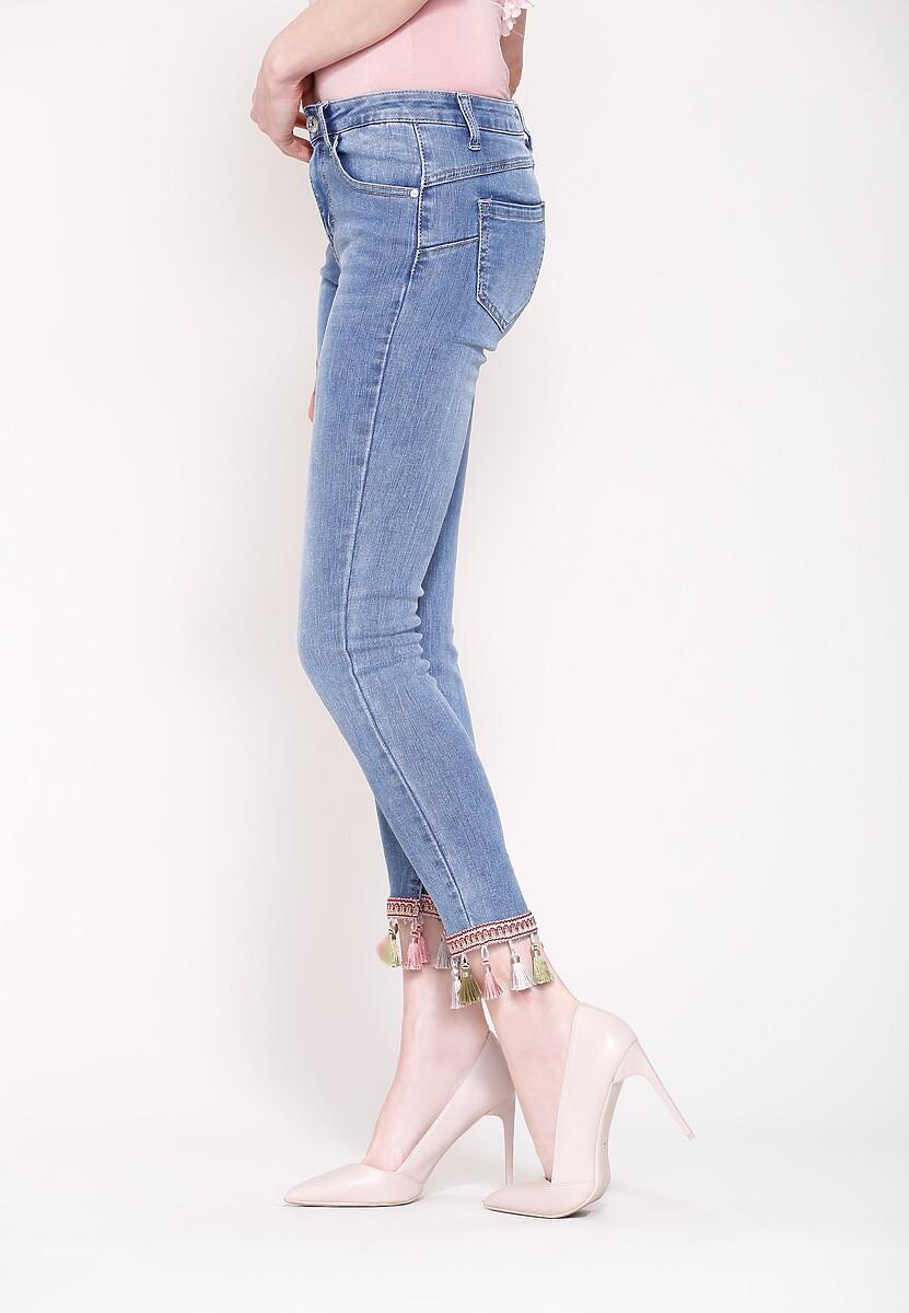 Niebieskie Jeansy You Can Buy