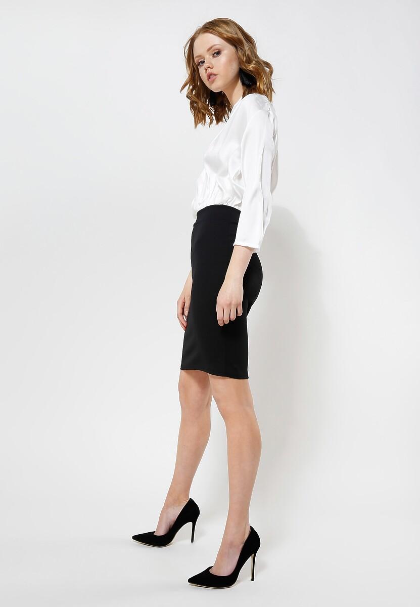 Biała Sukienka Silk Shades
